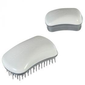 Щётка для распутывания волос, бело-серебристый