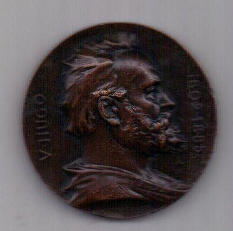 медаль 1902 г. Франция