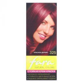 Краска для волос Fara Natural Colors 325 красное дерево, 160 г