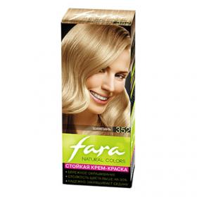 Краска для волос Fara Natural Colors, тон 352 Шампань, 160 г