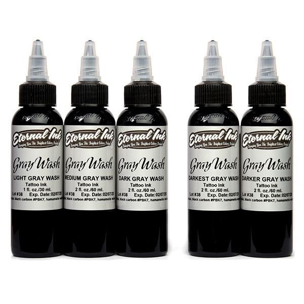 Eternal Ink Gray Wash - 5 Set
