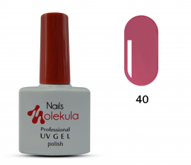 ГЕЛЬ-ЛАК NAILS MOLEKULA GEL POLISH №40 ТЕРРАКОТА 11ML
