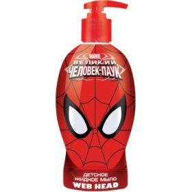 """Детское жидкое мыло """"Spider-Man. Web-Head"""", 480 мл"""