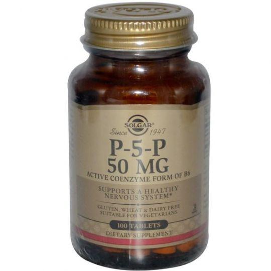 Пиридоксаль-5-фосфат, 50 мг, 100 таблеток