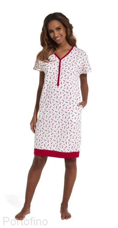 637-149 Женская сорочка с коротким рукавом Cornette