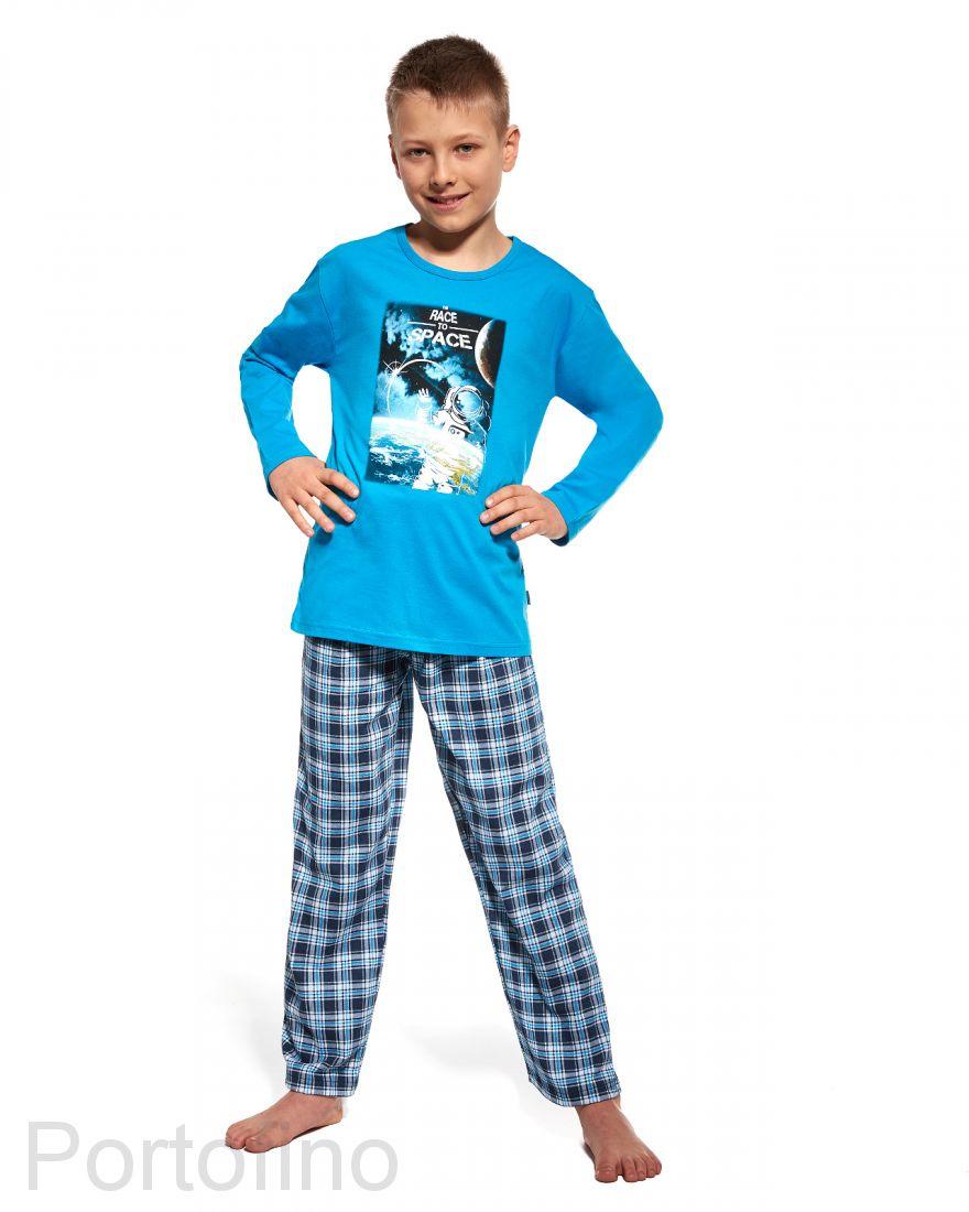 535-63 Пижама для мальчиков с длинным рукавом Cornette