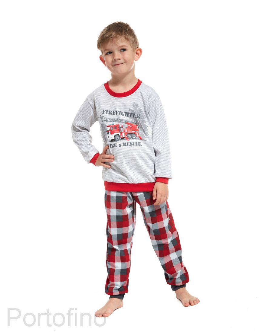 593-54 Пижама для мальчиков с длинным рукавом Cornette