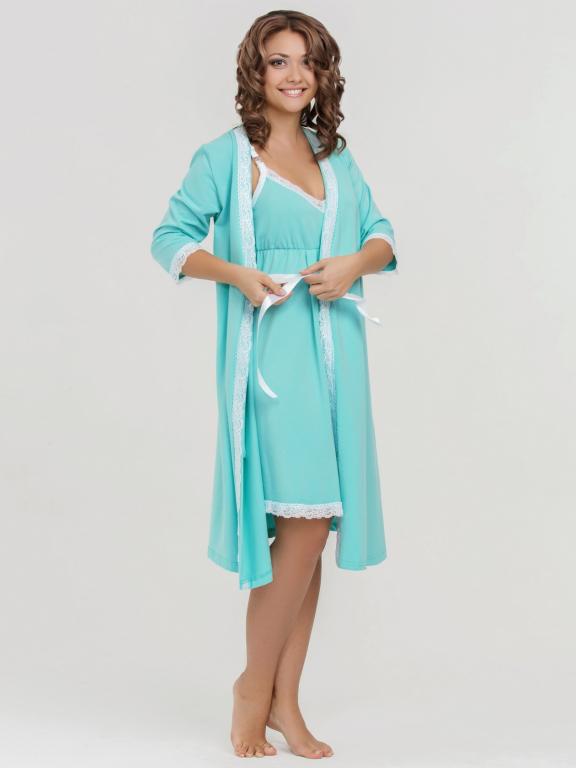 Беременных халаты и ночнушки