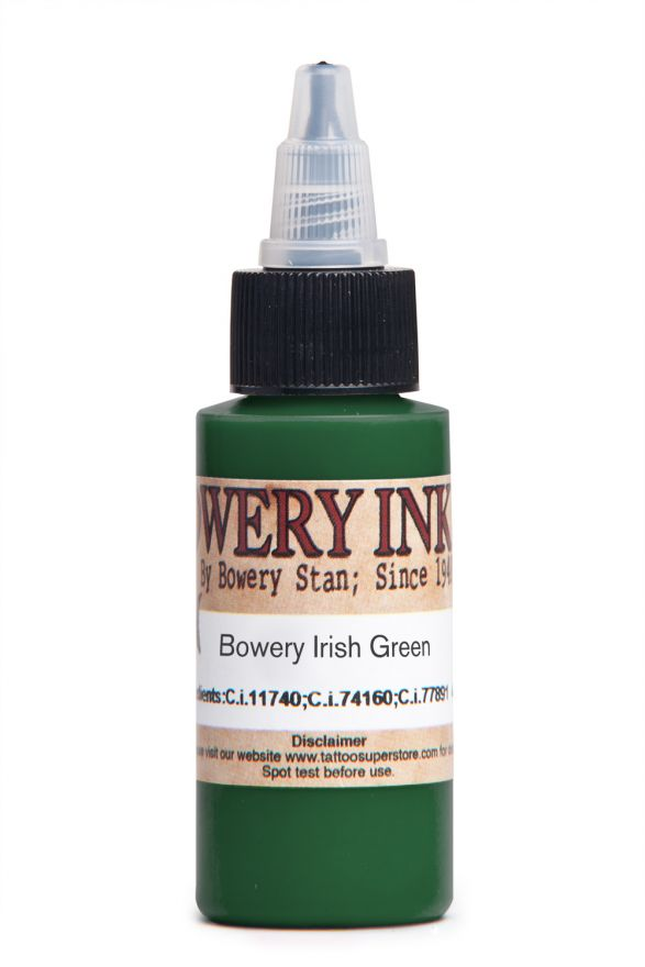 Intenze Bowery Irish Green