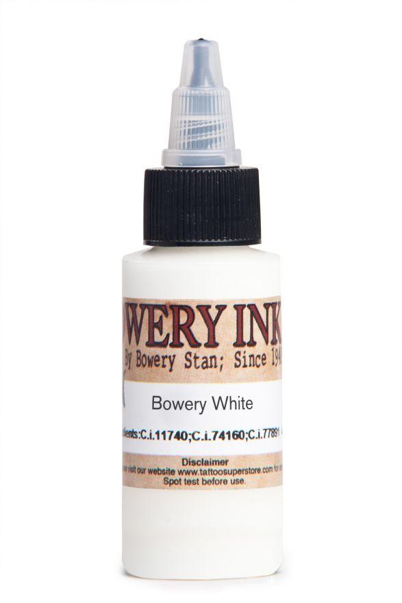 Intenze Bowery White