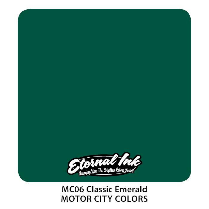 "Eternal ""Motor City"" Classic Emerald"