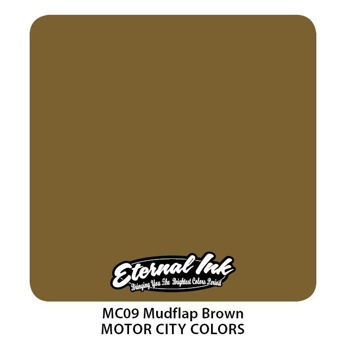"""Eternal """"Motor City"""" Mudflap Brown"""