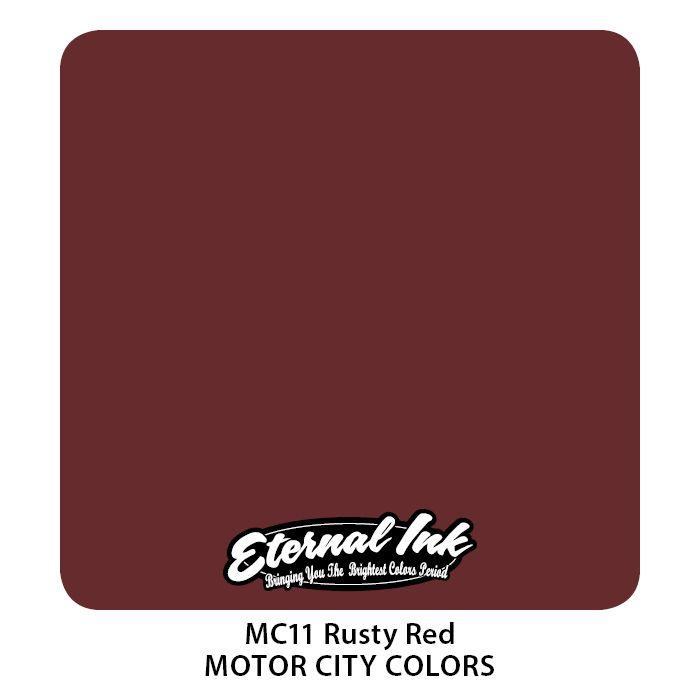 "Eternal ""Motor City"" Rusty Red"