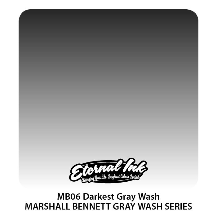"Eternal ""Marshall Bennett"" Darkest Gray Wash"