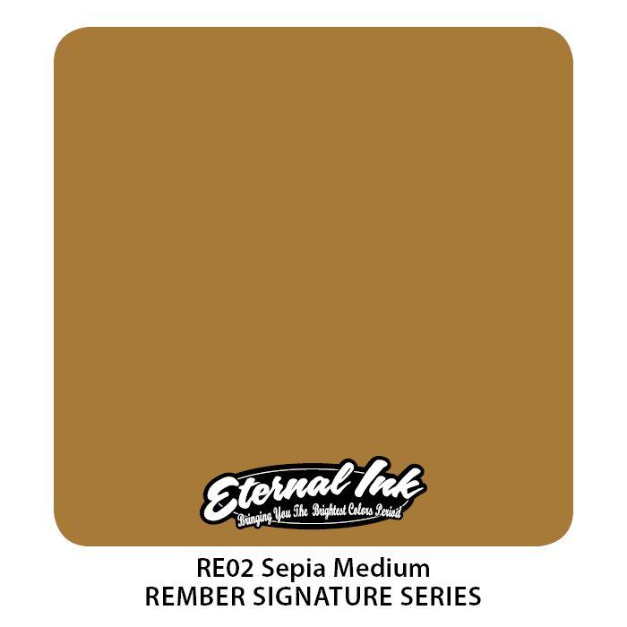 "Eternal ""Rember Orellana"" Sepia Medium"