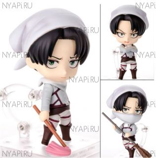 Фигурка Нендороид Атака Титанов Леви Бутлег / Nendoroid  Attack on Titan Levi figure