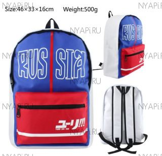 Рюкзак Юрий на Льду / Yuri on Ice Backpack