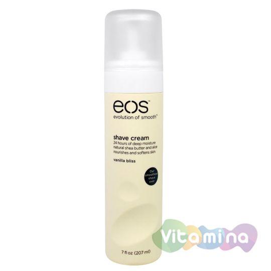 EOS крем для бритья Ванильное блаженство, 207 мл