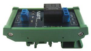 Выносной блок реле на DIN рейку LRL-1-24V-10-A