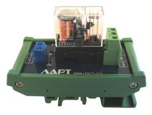 Выносной блок реле на DIN рейку LRL-1-24V-16-A