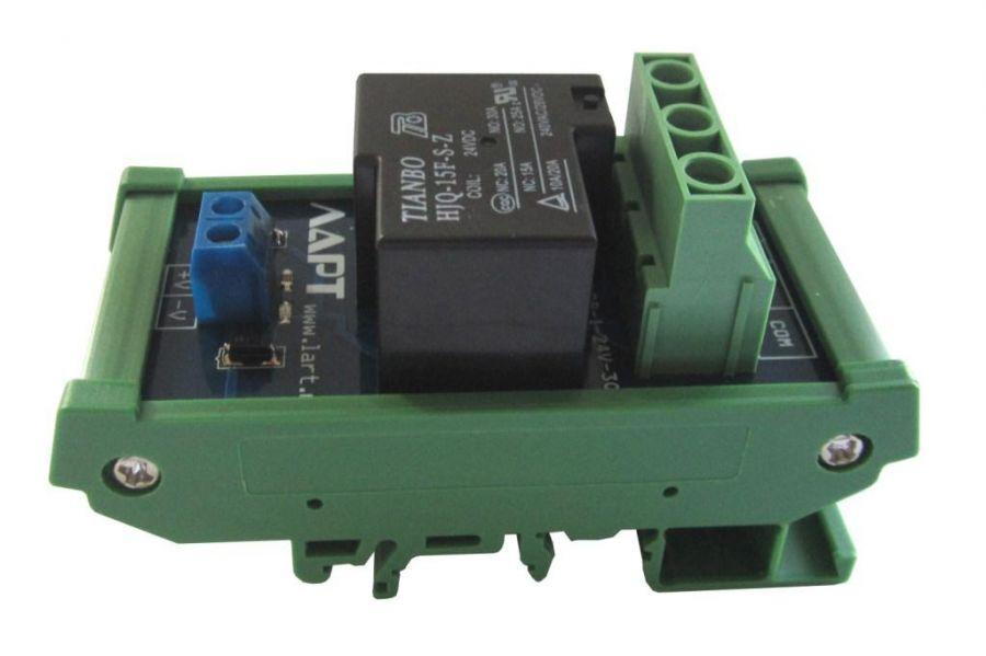 Выносной блок реле на DIN рейку LRL-1-24V-30-A