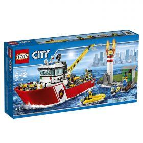 Lego City 60109 Пожарный катер #