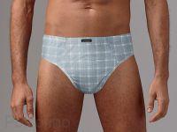 Модные и удобные мужские трусы плавки из новой коллекции мужского бренда Gentlemen. Хлопковые трусы из трикотажного полотна с геометрическим рисунком. Прекрасный вариант для ежедневного использования.