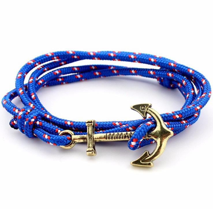 Браслет Immanuel синий