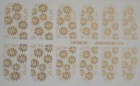 """Наклейки для ногтей """"Золото"""" NFM 036"""