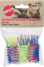 Spot Wide Colorful Springs Cat Toy (10 штук)