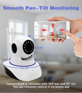 Беспроводная IP WiFi камера с микрофоном видео няня 720P HD Sdeter 1080