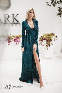 Елегантна рокля с прехвърляне