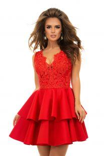 Разкроена къса рокля