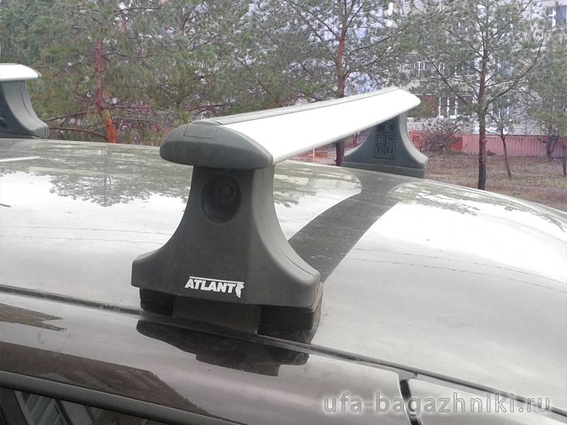 Багажник на крышу на Ладу Калину, Атлант, крыловидные дуги